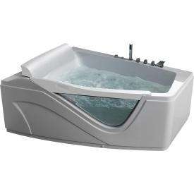 Ванна  угловая с подголовником Gemy G9056 B L