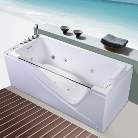 Прямоугольная гидромассажная ванна Orans  65108R0