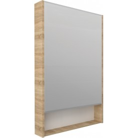 Зеркало-шкаф 1MarKa Mira 60 дуб сонома У84861