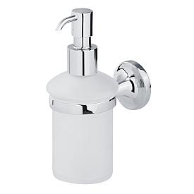 OSCAR Дозатор жидкого мыла настенный, хром/матовое стекло
