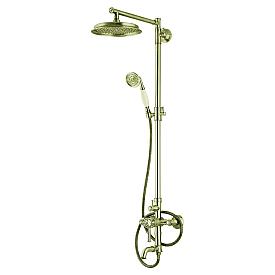 Душевая система для ванны Adiante AD-77024 GO
