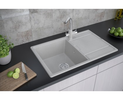 Мойка для кухни кварцевая Paulmark Flugen PM217850-QU