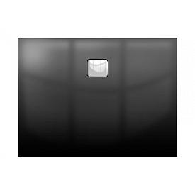 Акриловый душевой поддон Riho 416 120x90 черный глянец, накладка хром DC261600000000S
