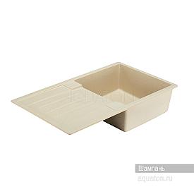 Мойка для кухни Верона прямоугольная с крылом шампань Aquaton 1A710032VR290