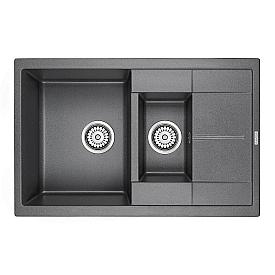 Мойка для кухни кварцевая Paulmark Feste PM237850-DG