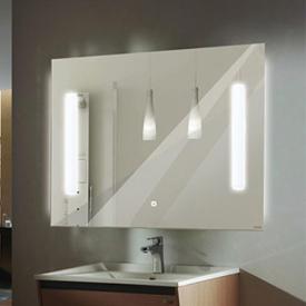 Зеркало Comforty Жасмин-75 светодиодная лента сенсор 750x650 00004140519
