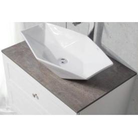 Водостойкая столешница для ванной BelBagno  DUBLIN-850-HPL-PT