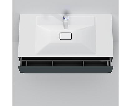 M50AFHX1003GM INSPIRE V2.0 База под раковину подвесная 100 см 3 ящика push-to-open графит мато