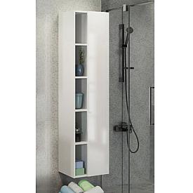 Шкаф белый Милан (Comforty) 4136467