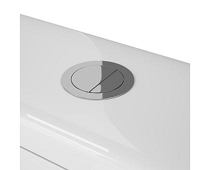 Напольный унитаз-компакт OWL Vind Cirkel-GL OWLT190301 с сиденьем DP микролифт