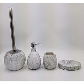 Керамический набор для ванной под камень Gid Asphalt 50 33274