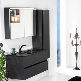 Зеркальный шкаф Armadi Art 80 VALLESSI 547-A glossy