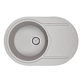Мойка для кухни кварцевая Paulmark Fittich PM317650-GR