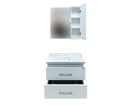 Тумба-умывальник Comforty Неаполь-80 с раковиной 50180 00004147564