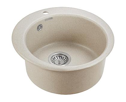 Мойка для кухни кварцевая Paulmark Gelegen PM404800-BE