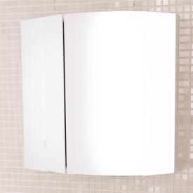 Зеркальный шкаф  белый Comforty 3119850