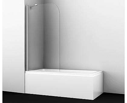 35P01-80 Fixed Стеклянная шторка на ванну WasserKRAFT