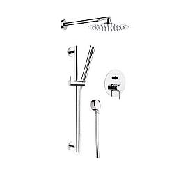 Комплект для ванны с душевой стойкой Remer X-Style X09S01 Remer