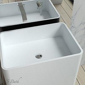 Раковины для ванной комнаты встраиваемые под столешницу NSBath  NSF-60420G