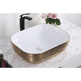 Раковина врезная в столешницу для ванны Gid  53324