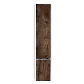 Шкаф - колонна Капри правый таксония темная Aquaton 1A230503KPDBR