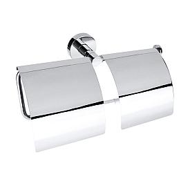 Двойной держатель туалетной бумаги с крышкой Bemeta 104112092