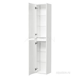 Шкаф - колонна Астера левый белый Aquaton 1A195403AS01L