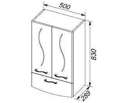 Шкаф навесной Aquanet 00186780