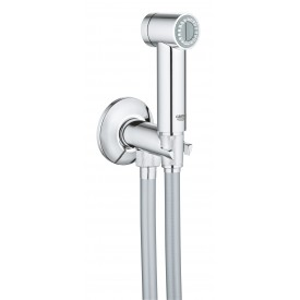 Душевой набор Grohe с гигиеническим душем и вентилем 26332000 1250 мм