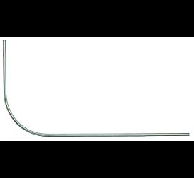 Карниз для ванны Г-образный 1Marka 5445 1200х900 1Marka