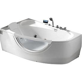 Ванна угловая с подголовником Gemy 171х99 G9046 II K L