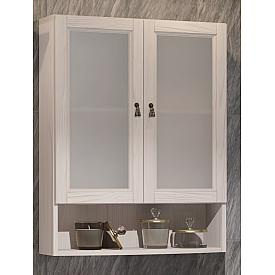 Шкаф Клио 63 подвесной 2 створчатый, с матовым стеклом Opadiris 00-00000443
