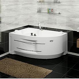 Гидромассажная ванна Ирма 1 Radomir 3-01-1-1-0-314 (левосторонняя)