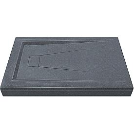 АТРИУМ 1200х800 - поддон из литьевого мрамора Грей (серый) GOOD DOOR ЛП00032