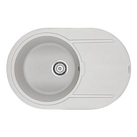 Мойка для кухни кварцевая Paulmark Fittich PM317650-WH