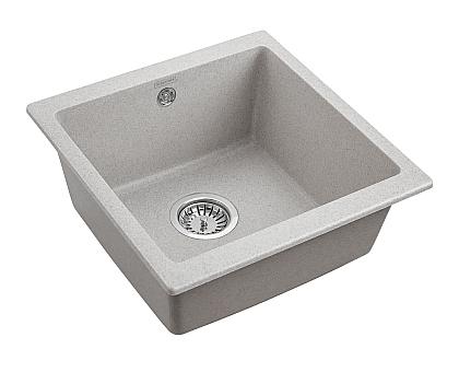 Мойка для кухни кварцевая Paulmark Brilon PM104546-GR