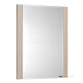 Зеркало Альпина 65 дуб молочный Aquaton 1A133502AL530