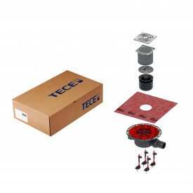 Комплект точечного трапа TECE KDP-S120