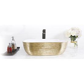 Раковина встроенная в столешницу в ванную комнату Gid  53325