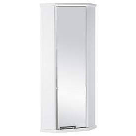 Шкафчик Призма М угловой правый белый Aquaton 1A004203PZ01R