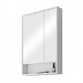 Зеркальный шкаф Рико 65 белый, ясень фабрик Aquaton 1A215202RIB90