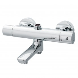 Смеситель термостатический для ванны с поворотным изливом Swedbe Hermes 9041