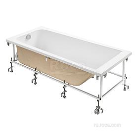 Акриловая ванна Roca Elba 248507000 прямоугольная белая 170х75