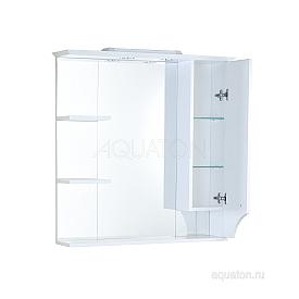 Зеркальный шкаф Элен 85 белый Aquaton 1A218802EN010
