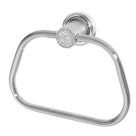 полотенцедержатель кольцо Boheme RoyalCristal 10925-CR