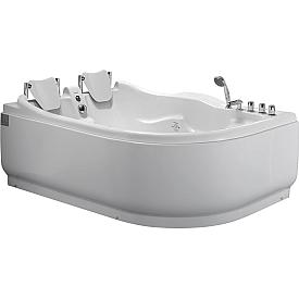 Ванна угловая с антискользящим покрытием Gemy 180х121 G9083 B L