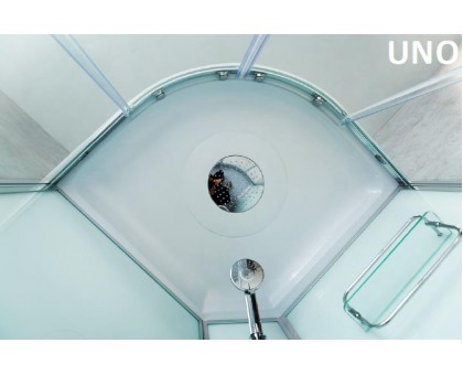 Душевая кабина BelBagno UNO-CAB-R-2-90-P-CR
