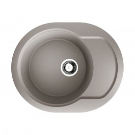 Кухонная мойка Omoikiri Manmaru 62-GR 4993353 leningrad grey