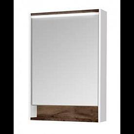 Зеркальный шкаф Капри 60 таксония темная Aquaton 1A230302KPDB0