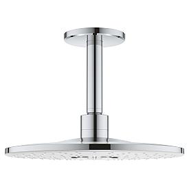 Верхний душ Grohe с потолочным душевым кронштейном 26477LS0 142 мм